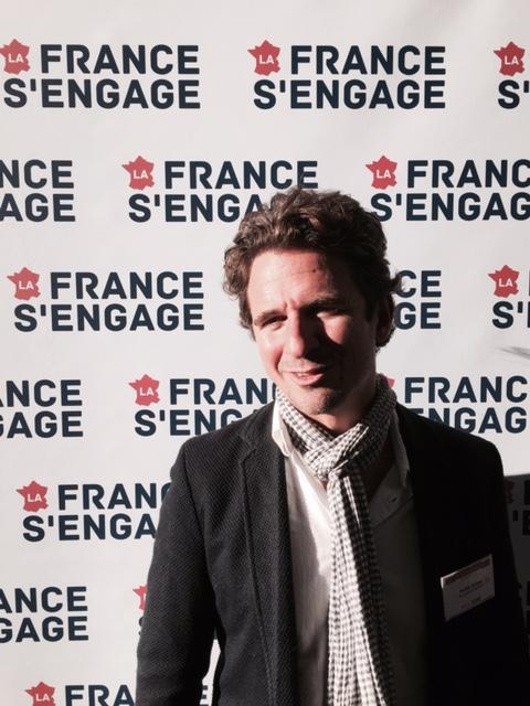 M. Philippe BLANC, trésorier Equipsy, à La France s'engage à Marseille